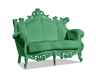 Louis II Loveseat