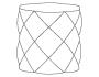 diamond pouf_1