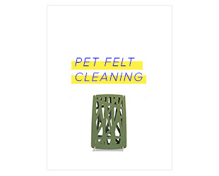 PET Felt Cleaning Guidelines