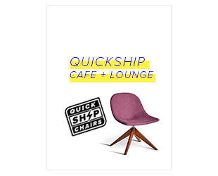 Quickship Cafe & Lounge Chairs